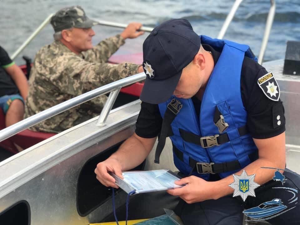 штраф за управление лодкой без прав 2021 украина