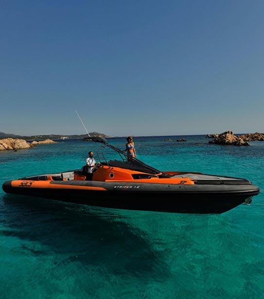 Права на моторную лодку 24 метра