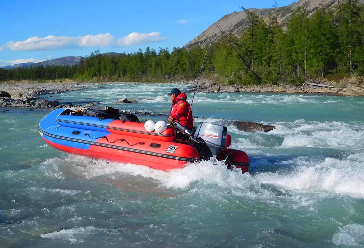 Права на надувний човен з мотором Київ